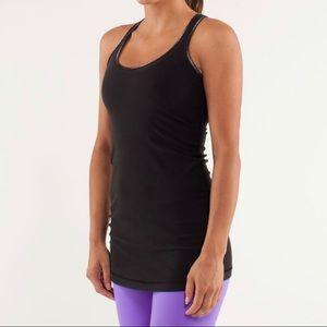 lululemon athletica Tops - Lululemon cool racerback In black extra long top